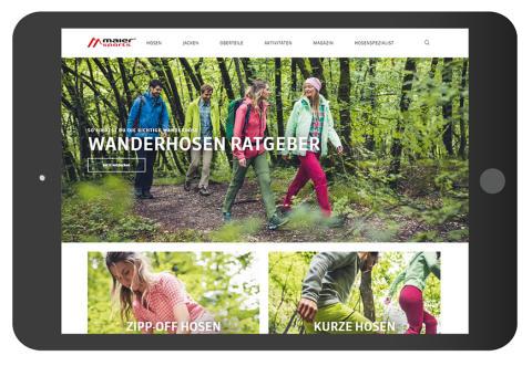 Die neue Maier Sports Website