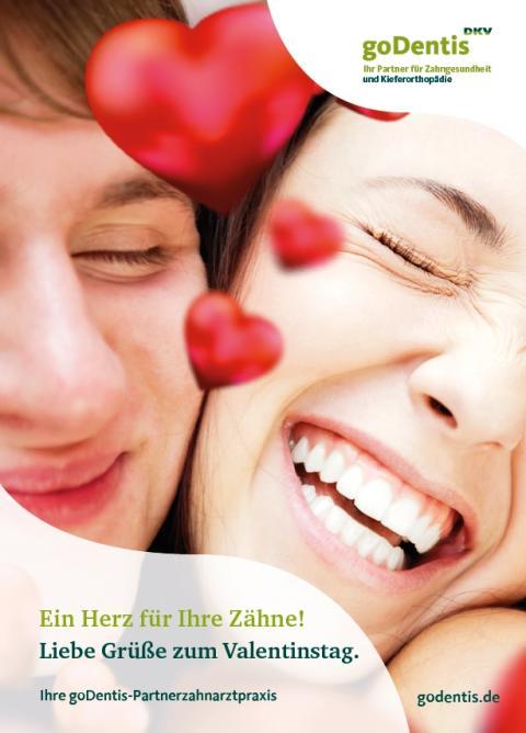 Valentinstag: Ein Herz für Ihre Zähne!