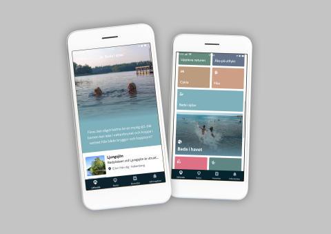 Visit Halland lanserar app för att minska trängseln i sommar