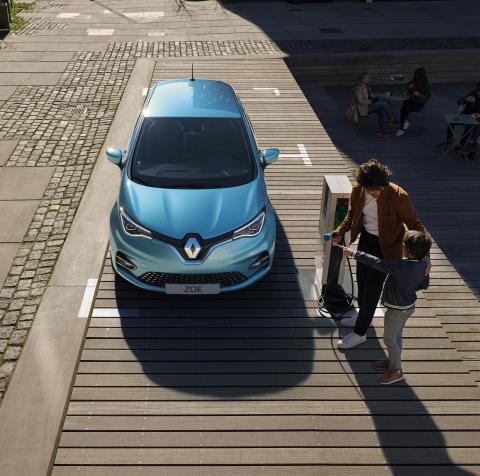 NY Renault ZOE – en moderne elbil med lang rækkevidde og fede features.