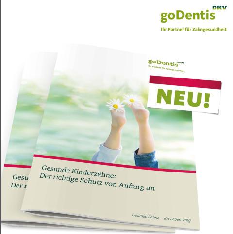 """""""Gesunde Kinderzähne - Der richtige Schutz von Anfang an"""" - Neue Broschüre der goDentis!"""