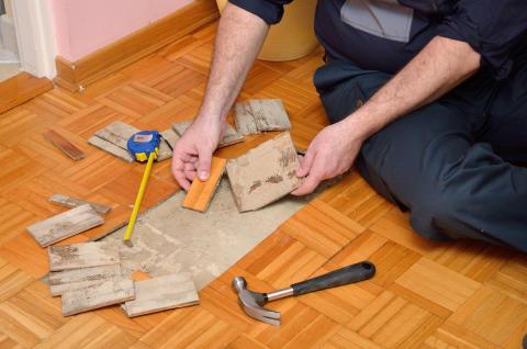 Hållbara golv med kretsloppsmärkning