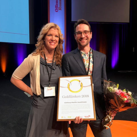 Göteborgs Stad vinnare av Guldlänken 2018