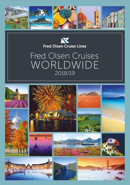 'The best destinations and experiences, whatever the duration' with Fred. Olsen Cruise Lines in 2018/19