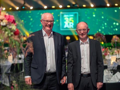Mester Grønn 35 år