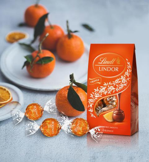 Lindor Orange 137g Mood påse