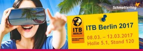 ITB 2017 - Schmetterling ist vor Ort