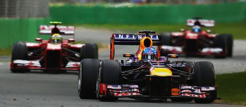 Vettel jager sin femte strake seier og VM-tittelen i Japan