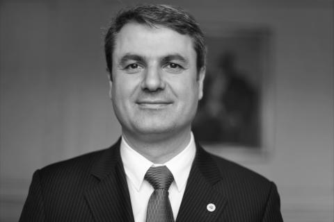 Sveriges nya energiminister Ibrahim Baylan till Power Circle Summit på Svenska Mässan i Göteborg den 6 november