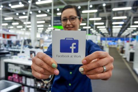 Elkjøp får Facebook@Work
