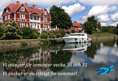 Bild med länk till Evenemangssida Semesterstängt vecka 30 och 31