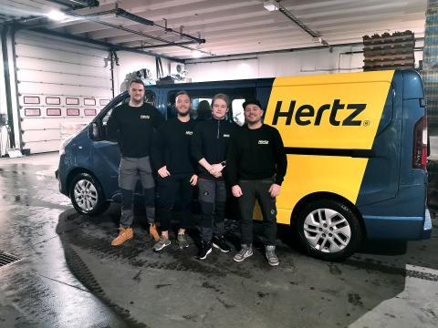 Hertz i Svolvær best på kundeservice