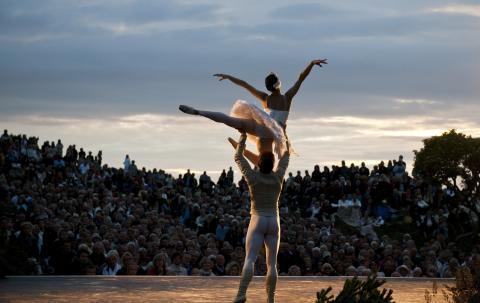 Verdens-Ballett auf Sylt