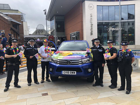 Surrey Police proud following county's first Pride event