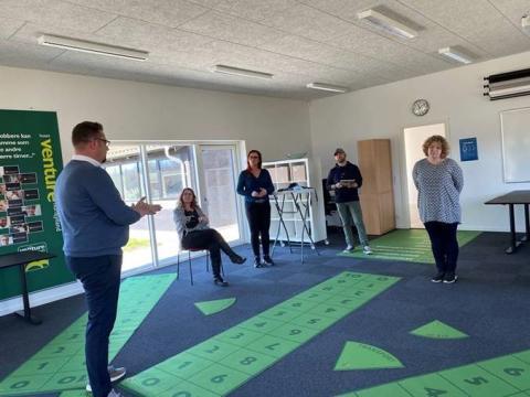 Hos Huset Venture Nordjylland har de allerede haft succes med at hjælpe flere deltagere i projekt 'Jobstyrke i Nord' i beskæftigelse.