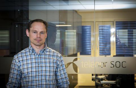 Gunnar Uglad, leder av Telenor sikkerhetssenter