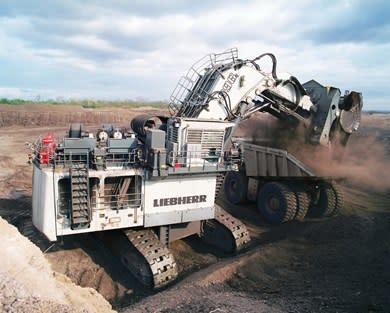 (8) Liebherr R 996 B (672 ton) // (16,6 metre)