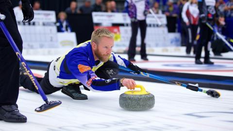 Curling: Team Edin till ny Grand Slam final, matchstart ikväll söndag kl 18:00