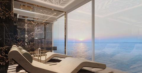 Seven Seas Splendor - Private spa