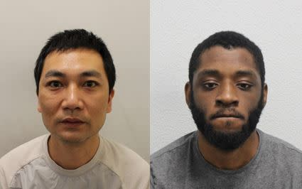 Two men have been convicted of money laundering