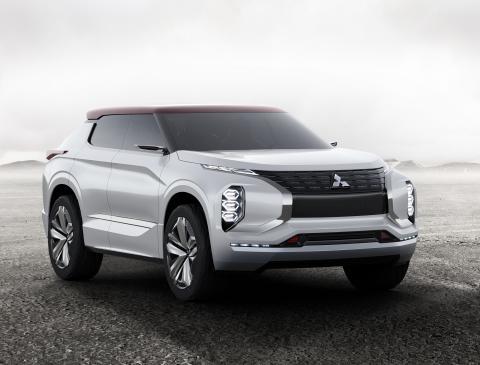 Mitsubishi Motors Lineup at Auto Shanghai 2017