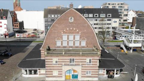 Schifffahrtsmuseum - Alte Fischhalle von Außen