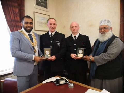 Wycombe Police Commanders Commended for Community Engagement