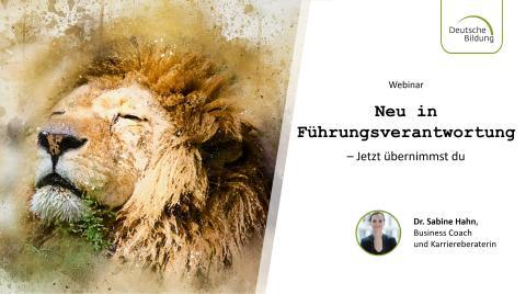 Webinar: Neu in Führungsverantwortung – Jetzt übernimmst du