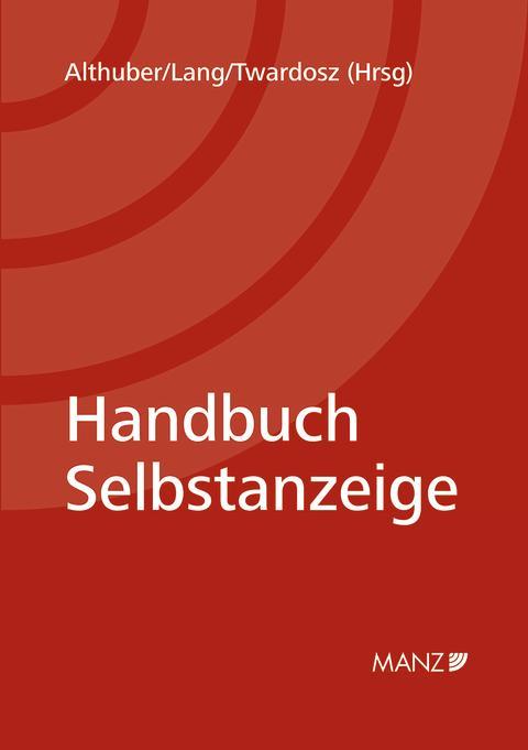 Neu bei MANZ: Handbuch Selbstanzeige