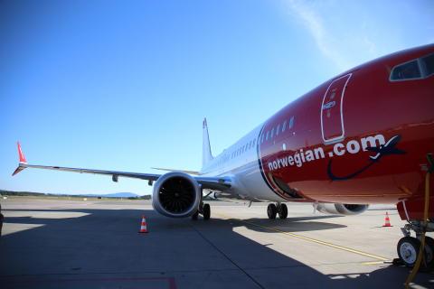 Norwegianin Boeing 737 MAX