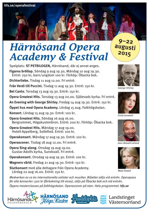 Härnösand Opera Academy & Festival