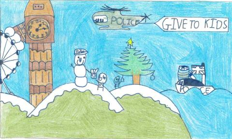 Christmas Tree Appeal finalist; Joseph Callaghan (aged 10)