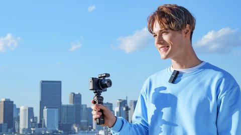 Новые микрофоны Sony для видеоблогеров и создателей видеоконтента