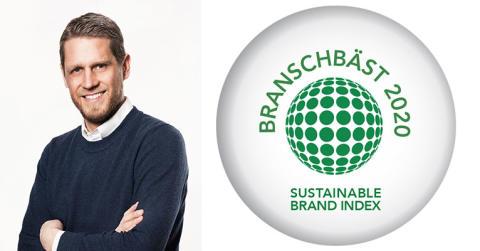 HSB mest hållbara varumärket för tredje året i rad