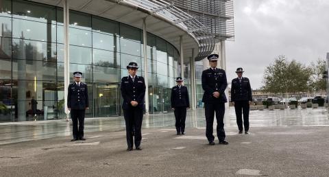 A minute's silence for Sergeant Matt Ratana