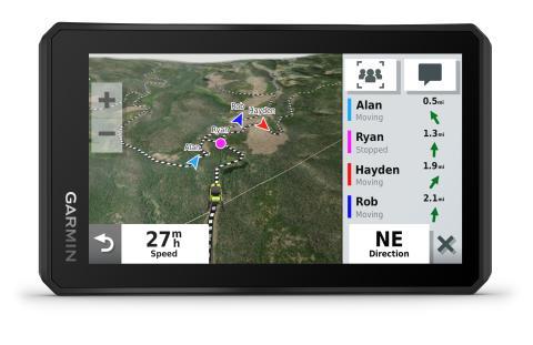 Tread Powersport-Navi_Group Ride Tracking