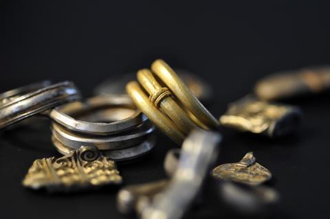 Lejres store emner_Guld sølv og magt. Kredit Museumsorganisationen ROMU
