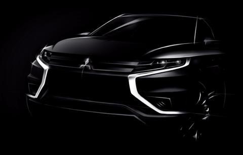Mitsubishi Outlander PHEV Concept-S front
