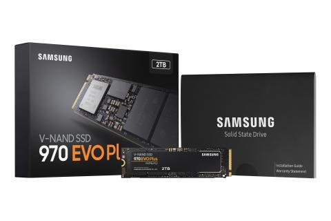 Samsung sætter nye præstationsstandarder med NVMe SSD 970 EVO Plus