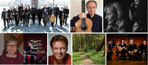 Musik i Äppelriket blir festival – upplev musik, natur och landskap 5–13 juli
