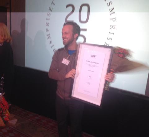 WildSweden vinner Stora Turismpriset 2015