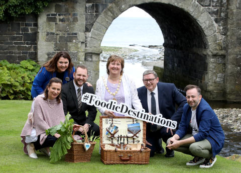 Top Irish food judges get a taste of what Mid and East Antrim has on its plate
