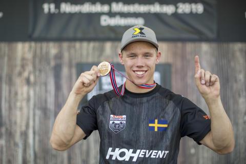 Ferry Svan ny nordisk mästare i Timbersports