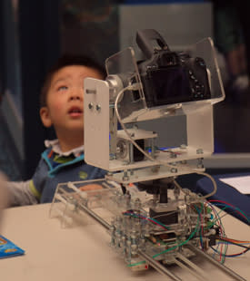 University experts wow crowds with their creativity at Maker Faire UK