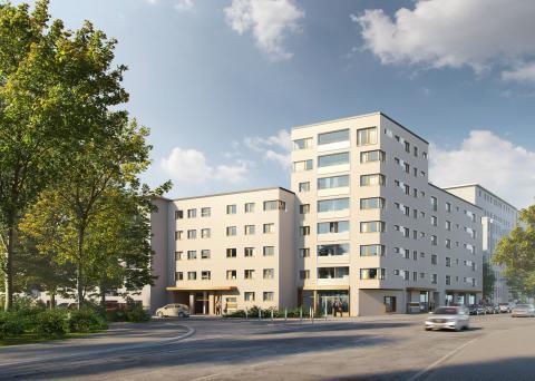 ZÜBLIN, Pilot project sustainable construction site Saalburgallee, Frankfurt