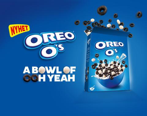 Nyhet: OREO O's flingor lanseras i Sverige!