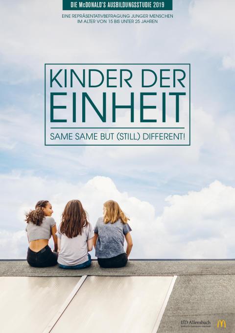 """McDonald's Deutschland veröffentlicht vierte Ausbildungsstudie """"Kinder der Einheit"""""""