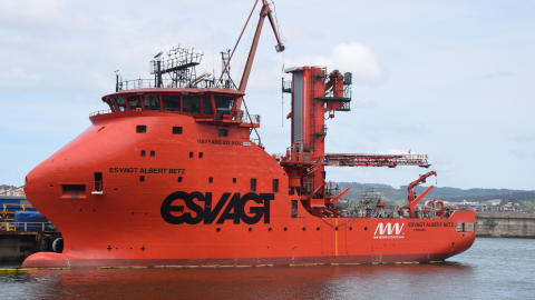 ESVAGT delivers new SOV to MHI Vestas