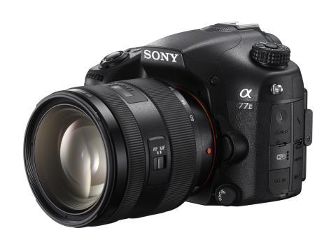 Immer im Fokus: Der neuen Kamera α77 II von Sony entgeht kein Detail