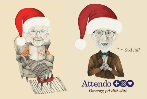 Attendo har öppet hus inför julen